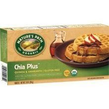 Natures Path Organic Chia Plus Frozen Waffles, 7.4 Ounce - 12 per case.