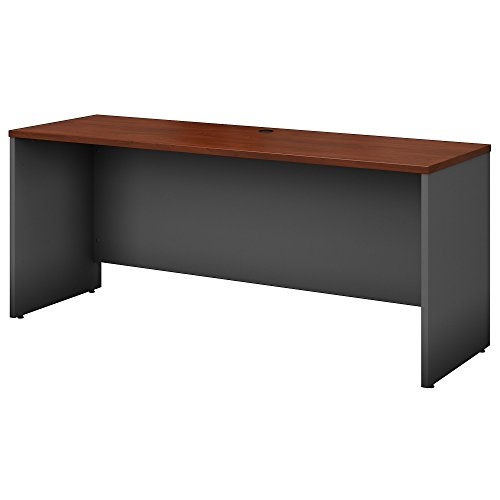 Bush Business Furniture Series C 72W x 24D Credenza Desk in Hansen Cherry Credenza Accessories