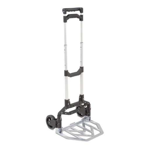 Seville Classics Folding Hand Truck & Dolly, 150 lbs. Capacity (Dolly Utility Folding)