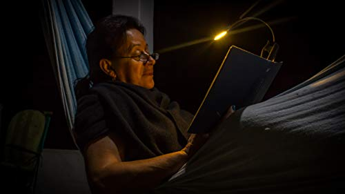 The Lamborghini of Book Lights - Warm, Cool and Natural Light Types in One Superb Reading Lamp - All in All, Adjustable, Long Lasting, Rechargeable, Portable, Elegant - Best Investment for Book Lovers