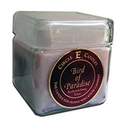 28oz Circle E Candles Birds of Paradise, Our Most Popular of All Candles! This Sweet Intoxicating Smell Will Make You Get a Sweet Tooth If You Don\'t Have One Already!