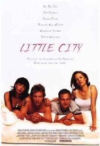 LITTLE CITY (1997) Original Authentic Movie Poster 27x40 - ROLLED - Single-Sided - Jon Bon Jovi - Annabella Sciorra - Josh Charles - Penelope Ann Miller