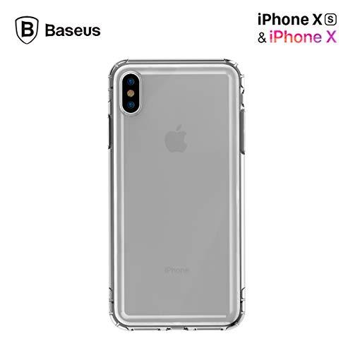 Funda Case Apple iPhone XS MAX XR XS/X Suave al Tacto de Lujo Case Airbag Bolsas de Aire Ultra protección Anti caidas...