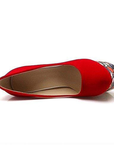 GGX/Microfaser Damen-Schuhe Lackleder/Leder Frühjahr/Sommer/Herbst Heels/Schuhe heelswedding/Office & Karriere red-us9.5-10 / eu41 / uk7.5-8 / cn42
