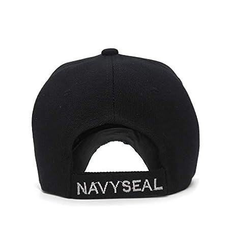 TRGFB Baseball cap Navy Seals cap Tactical Army cap Lettera Ricamo Cappello da Baseball///Navy Snapback Hat per Uomo Donna pap/à Cappello