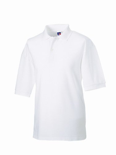 Russels Workwear - Polo - - Polo - Col polo - Manches courtes Homme - Blanc - Blanc - Xxxxx-large 3XaRq