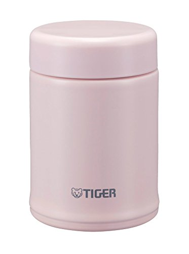 Tiger MCA-B025-PF Stainless Steel Vacuum Insulated Soup Cup, 8-Ounce, Framboise Pink