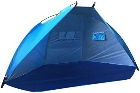 perfeclan Strandzelt Beach Zelt, Anti UV Strandmuschel Gartenzelt für 2-3 Personen Familien Sonnenschutz, Ultraleicht