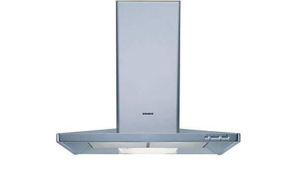 Siemens LC55950 - Campana (Canalizado/Recirculación, 400 m³/h, 54 Db, Montado en pared, Acero inoxidable, Giratorio): Amazon.es: Hogar