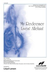 Alleluia Sab Music Book - My Redeemer Lives Alleluia SAB - SAB, Piano - Sheet Music