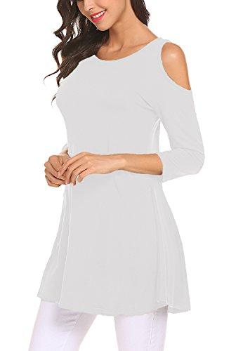 Hollow White Floral Waist Skirt Print Braces Pleated Out Women High Suspender Bluetime FBwqfq