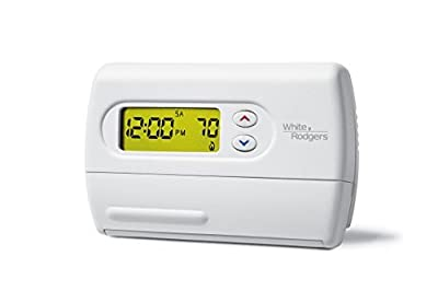 Emerson 1F87-361 7 Day Programmable Thermostat for Single-Stage Systems by Emerson Thermostats