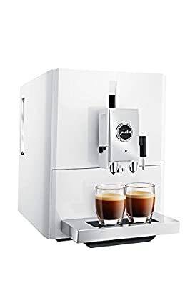 Jura A7 One Touch Technology Super Fully Automatic Espresso Machine Coffee Espresso Capuccino Maker All Types of Coffee Drinks, Piano White