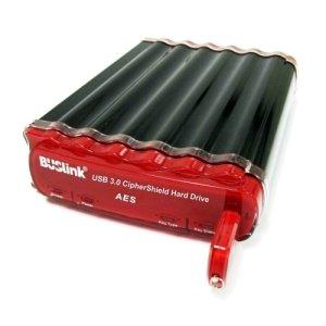BUSlink CipherShield 8TB 128-bit AES USB 3.0/eSATA Hardware Encrypted External Desktop Hard Drive