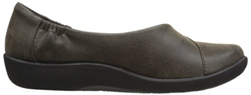 Flat Nubuck Women's CLARKS Synthetic Sillian Synthetic CloudSteppers Flat Jetay Sillian Jetay Women's Khaki Khaki CloudSteppers CLARKS 7Z4qZWn