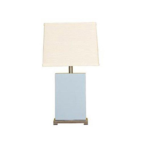 Mario Lamps 10T211SK Ceramic Block Table Light