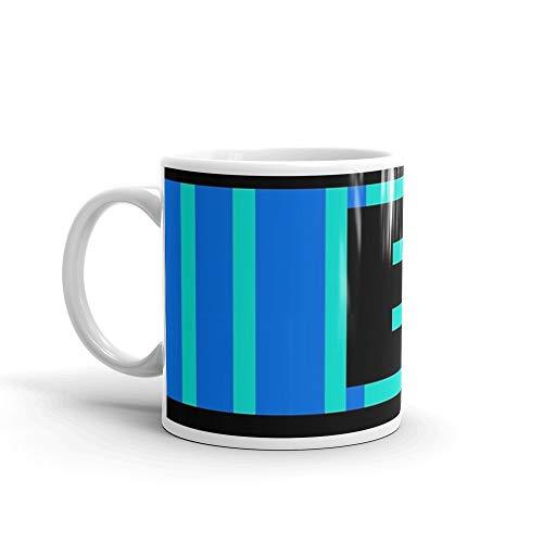Mega Man E Tank Mug 11 Oz White Ceramic (Megaman E Tank Mug)
