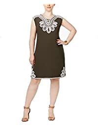 Alfani colorblocked dress