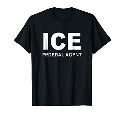 ICE Federal Agent Halloween Costume Police Immigration Shirt