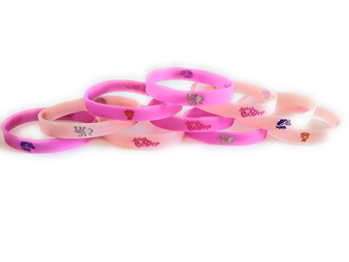 Littlest Pet Shop Birthday - LITTLEST PET SHOP Bracelets Kids Birthday Party Favors - GLOW IN THE DARK (10 pack)