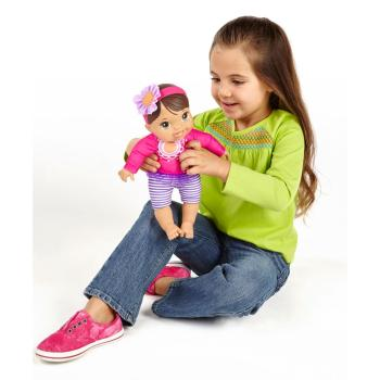 Amazon Com Baby Alive Plays And Giggles Brunette Baby