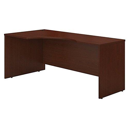 Bush Business Furniture Series C 72W Left Handed Corner Desk in Mahogany