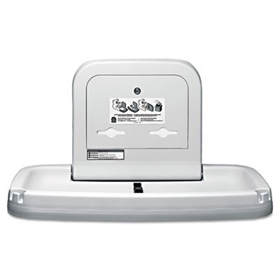 Horizontal Baby Changing Station, 35 3/16 x 22 1/4, Cream, Sold as 2 Each
