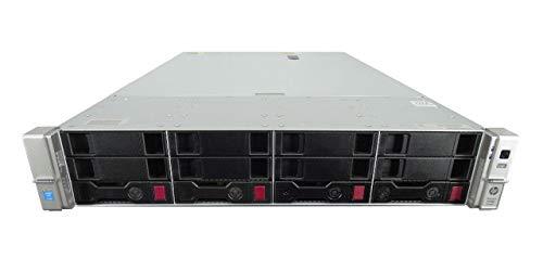 HP ProLiant DL380 G9 4 Bay LFF 2U Server, 2X Intel Xeon E5-2680 V3 2.5GHz 12 Core, 16GB DDR4, 2X 4TB 7.2K SATA 6Gbps 3.5 Drives, 10GB/40GB, Rails, 1 Year 8x5xNBD Warranty (Renewed)