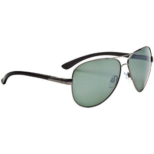 Optic Nerve Arsenal Sunglasses (Matte Gunmetal, Polarized - Shops Glass Anchorage