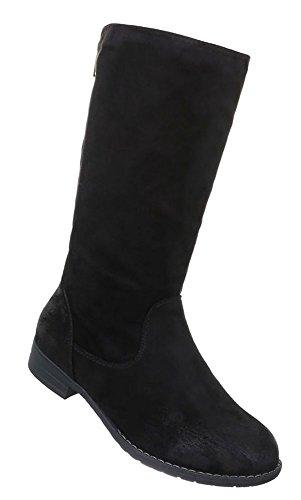Damen Schuhe Stiefel Moderne Schwarz