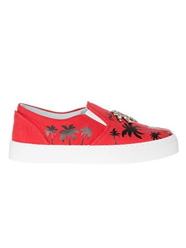 rosso Ferragni Pelle Cf1894red Chiara Donna Nero Sneakers P8Onwk0