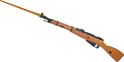 Evike WinGun Airsoft Mosin-Nagant M44 Carbine Co2 Powered Bolt Action Rifle w/Realistic Imitation Wood Furniture