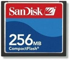 Sandisk 256/Mo Compact Flash Card
