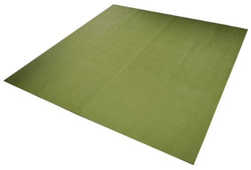 Yoga Direct 6-Feet Square Yoga Mat Olive Green