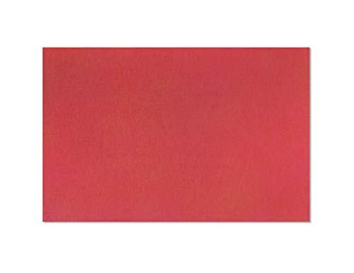 (Envelopes 6x9 Holiday Red Bright Color - Greeting Cards Invitation Envelope 24lb 6 x 9 Inch Heavyweight Paper Envelopes for Home, Office, Business, Legal or School - 25 Count)