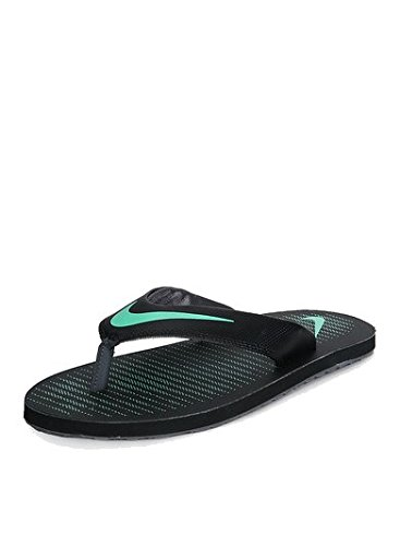 size 40 a16c0 48231 Nike Chroma Thong 5 Black & Green Slippers For Men's (10 UK)
