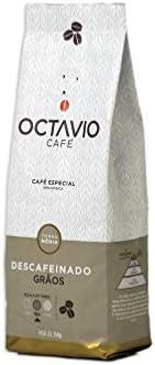 Café Torrado em Grãos Descafeinado Octavio Café 250g