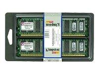 Kingston KVR400X64C3AK2/512 512MB DDR400 32MX64 DDR Non-ECC C3 Kit