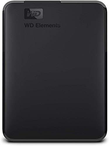 WD 2TB Elements Portable External Hard Drive - USB 3.0 - WDBU6Y0020BBK