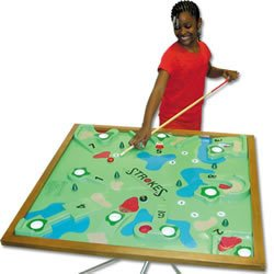 SSG Youth Deluxe Table Top Golf Game by Strokes Table Golf