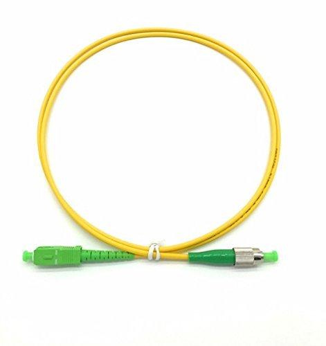 Cable Fibra Optica OS1 1mt FC/APC a SC/APC SIMPLEX 9/125