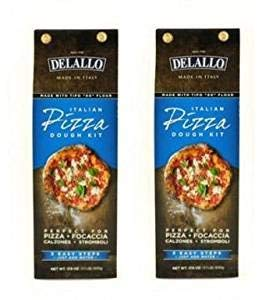 - Delallo Italian Pizza Dough Kit (Pack of 2)