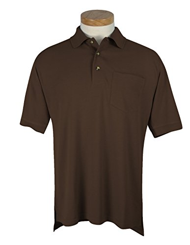 Tri-Mountain Men's Big And Tall Golf Shirt With Pocket