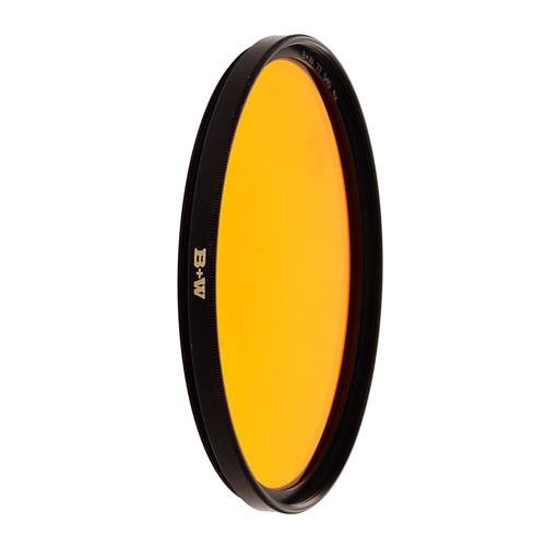 B + W 52mm #040 Glass Filter - Yellow/Orange #16