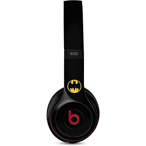 Skinit Batman Logo Beats Solo 2 Wireless Skin - Officially Licensed Warner Bros Audio Decal - Ultra Thin, Lightweight Vinyl Decal Protection ()