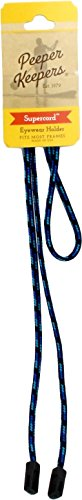 Peeper Keepers Retainer, Sunglasses Holder, Eyeglass Chain for Men and Women, Blue Multi