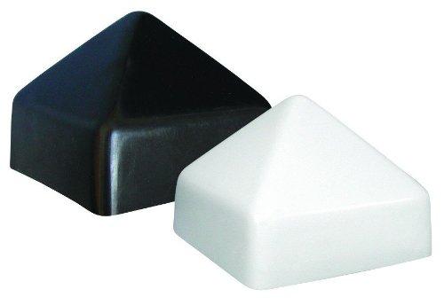 JIF MARINE FJP-W 3 0.5インチX 3 0.5インチ直径杭キャップスクエアホワイト   B00J2G1K34