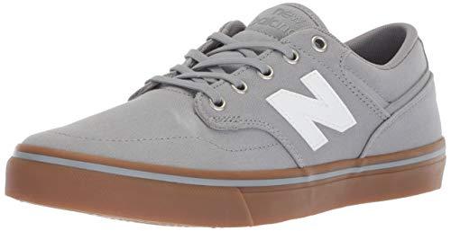 New Balance Men's 331v1 All Coast Skate Shoe, Light Grey/Gum, 11 D ()