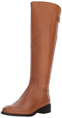 Franco Sarto Women's brindley Knee High Boot, Whiskey, 7 Wide US by Franco Sarto