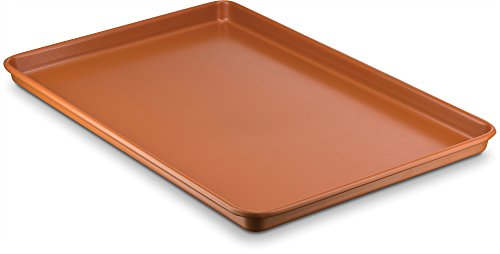 Copper Cookie Sheetclean Metallic Copper Porcelain Enamel